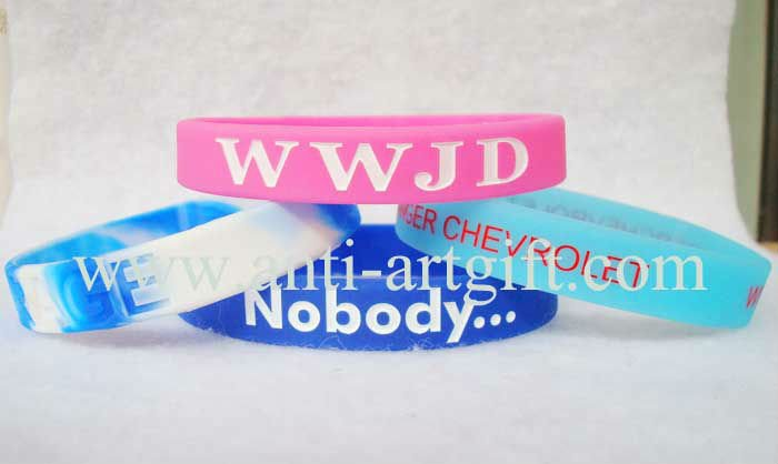 FREE SHIPPING,Offset print silicone wristband,low price silicone bracelet(China (Mainland))