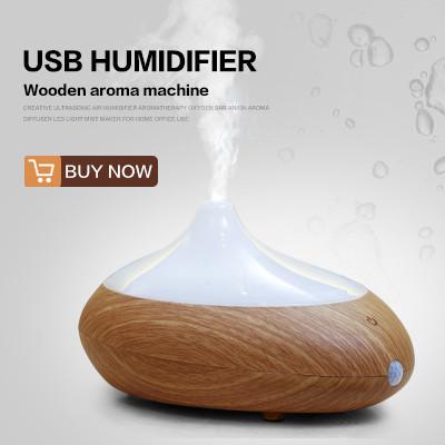 2016 Mini Ultrasonik USB Nemlendirici Mist Maker Sisleyici Araba Atomizör Hava Temizleyici Taşınabilir Led Işık Uçucu Yağ Aroma Difüzör