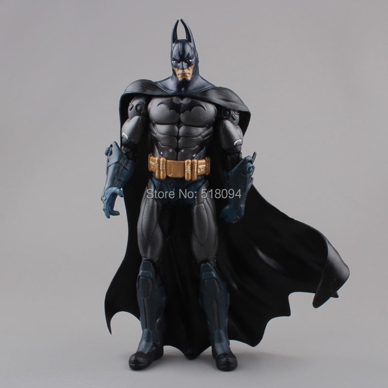 "DC Batman The Dark Knight Returns PVC Action Figure Collectible Model Toy 7"" 18CM Free Shipping HRFG248-2(China (Mainland))"