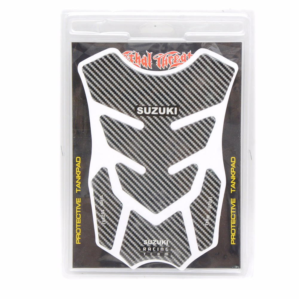 motorcycle stickers Tank Pad Protector Sticker Decal Gas Knee Grip Tank Traction Pad Side 3M For Tank sticker For suzuki(China (Mainland))