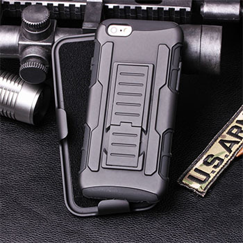 For Apple iPhone 6 Case Cover Rugged Armor Impact Holster Hard Case for iPhone 6 6S Plus 5 5S SE 4 4S Cell Phone Case Cover(China (Mainland))
