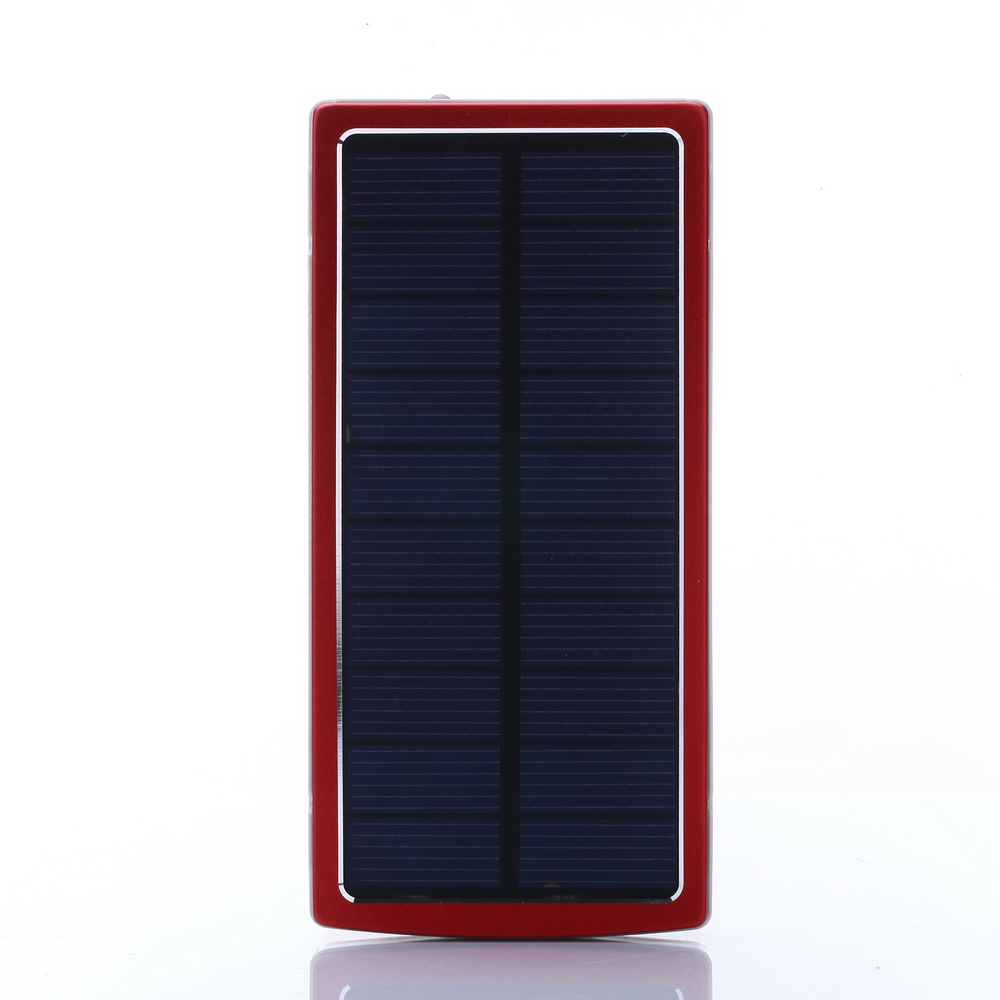 Portable Solar Charger Power Bank 12000mAh Powerbank External Mobile Battery Pack Cargador Bateria Externa for iPhone Cell Phone