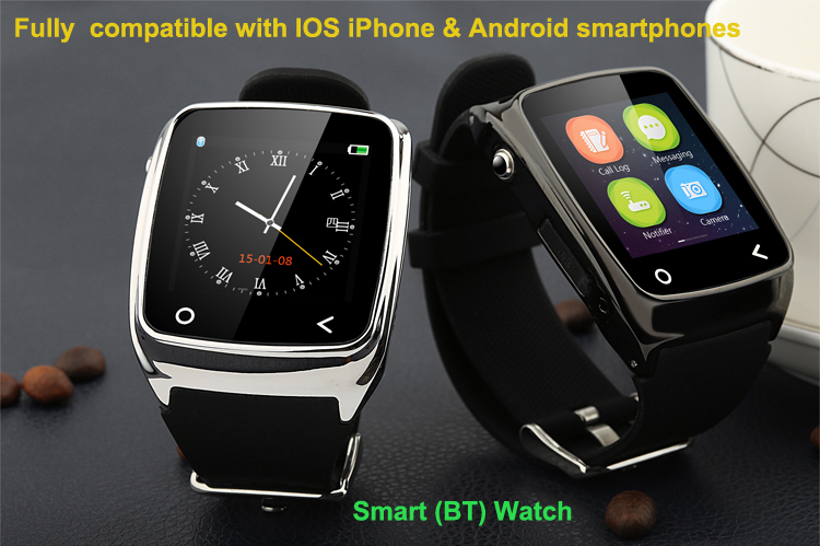 i8 First Smart Watch for All Apple iPhone Samsung ...