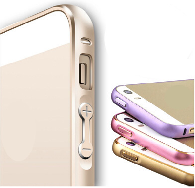 Luxury Brand New Gold For iPhone 5S 5 S Bumper Case Aluminium Metal Frame Cover Mobile Phone Protective Case For Apple iPhone 5S(China (Mainland))