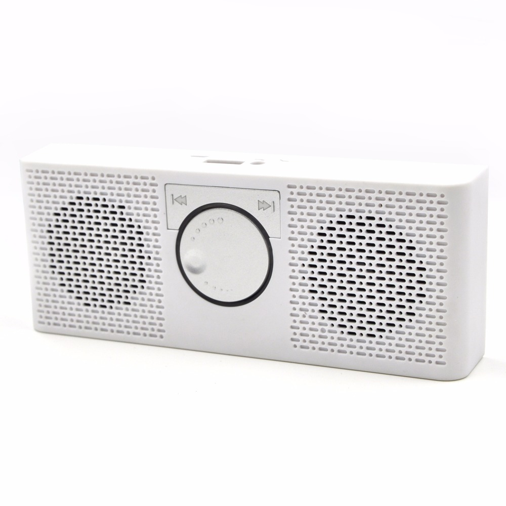 2016 Portable FM Radio Stereo Bluetooth Speaker MP3 Music Player Double Loudspeaker with TF Card USB Disk Input Gift For Parents(China (Mainland))