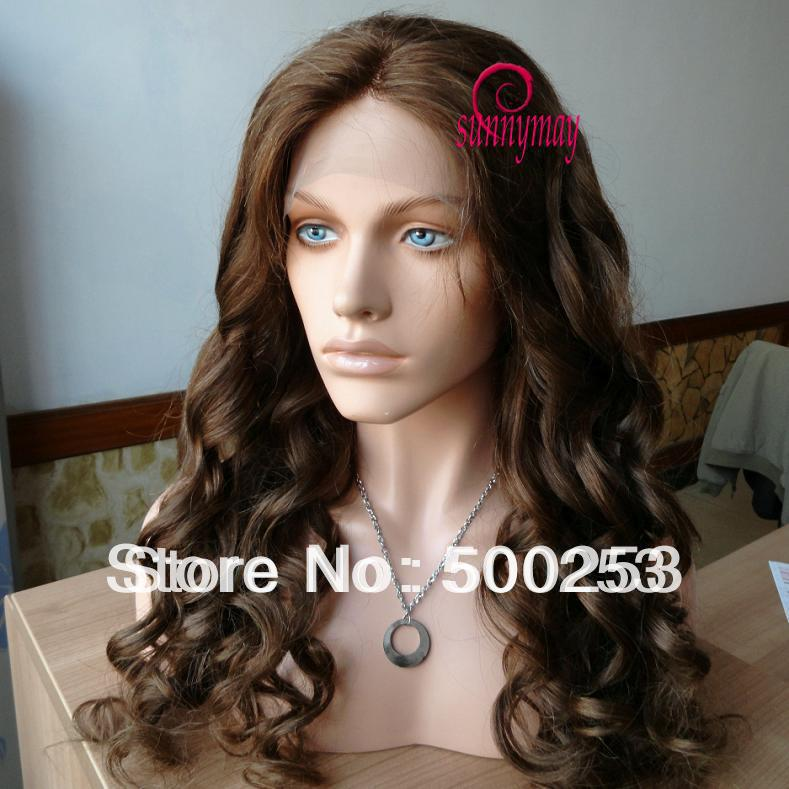 Sunnymay Middle Parting  Virgin Malaysian Human Hair lace Front Wigs<br><br>Aliexpress
