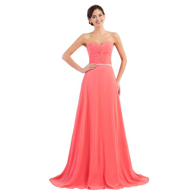 Грейс карин со линии милая шифон сексуальное платье вечера с корсет платья пром платья ...