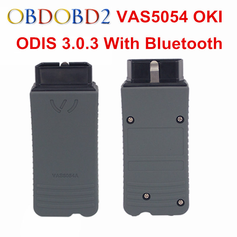 Newest ODIS 3.0.3 VAS5054A OKI Full Chip VAS 5054A Bluetooth USB VAS5054 A Support UDS Protocol Car Diagnostic Tool 5054 Scanner(China (Mainland))