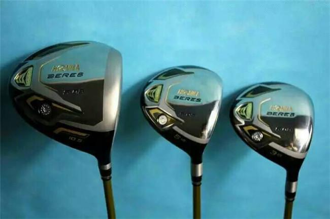 3 Star Honma Beres Golf Clubs Honma Beres S-03 Wood Set Driver + Fairway Woods Regular/Stiff Flex Graphite Shaft With Head Cover(China (Mainland))