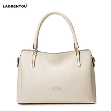 Laorentou European style leather women handbag fashion bag lady's bag enjoy discount(China (Mainland))