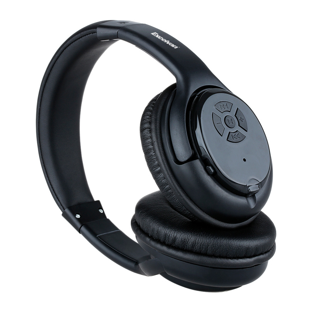 Excelvan Classic HD Bluetooth 3.0+EDR stereo wireless headphone Mic Hands-free Calling FM Radio/ TF Cared with 3.5mm Audio Cable(China (Mainland))