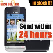 Cheapest Phone Nokia C5-03 Original Unlocked Mobile Phone GPS WIFI Bluetooth 3G Free Shipping(China (Mainland))