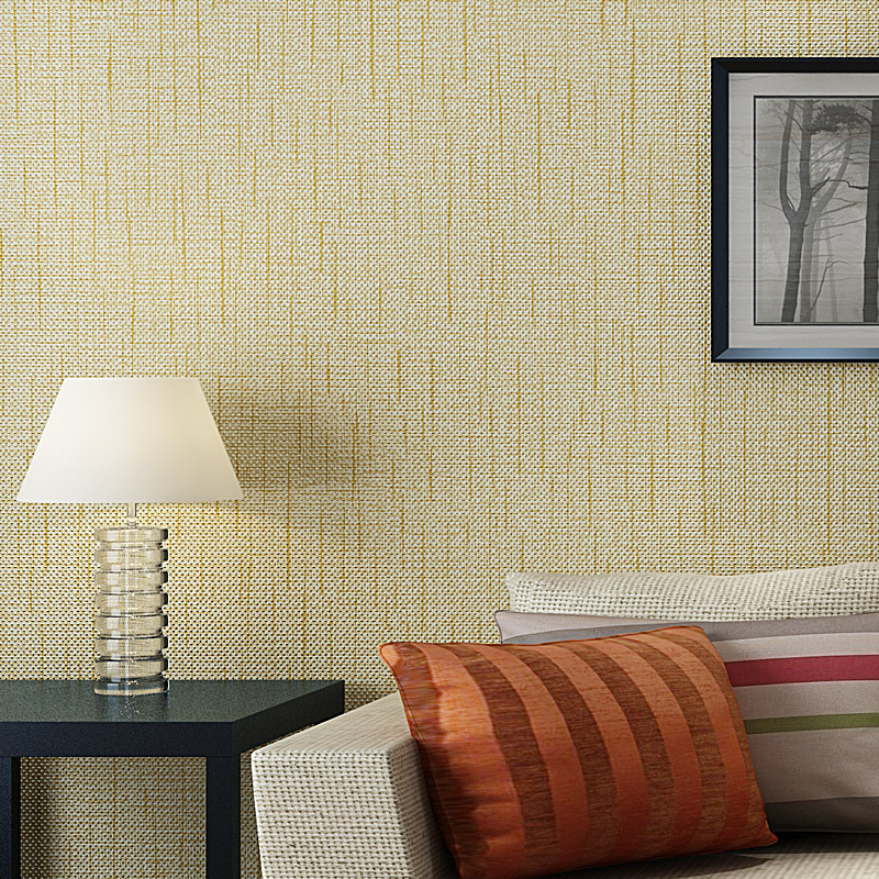 non woven wallpaper roll american straw texture wallpaper