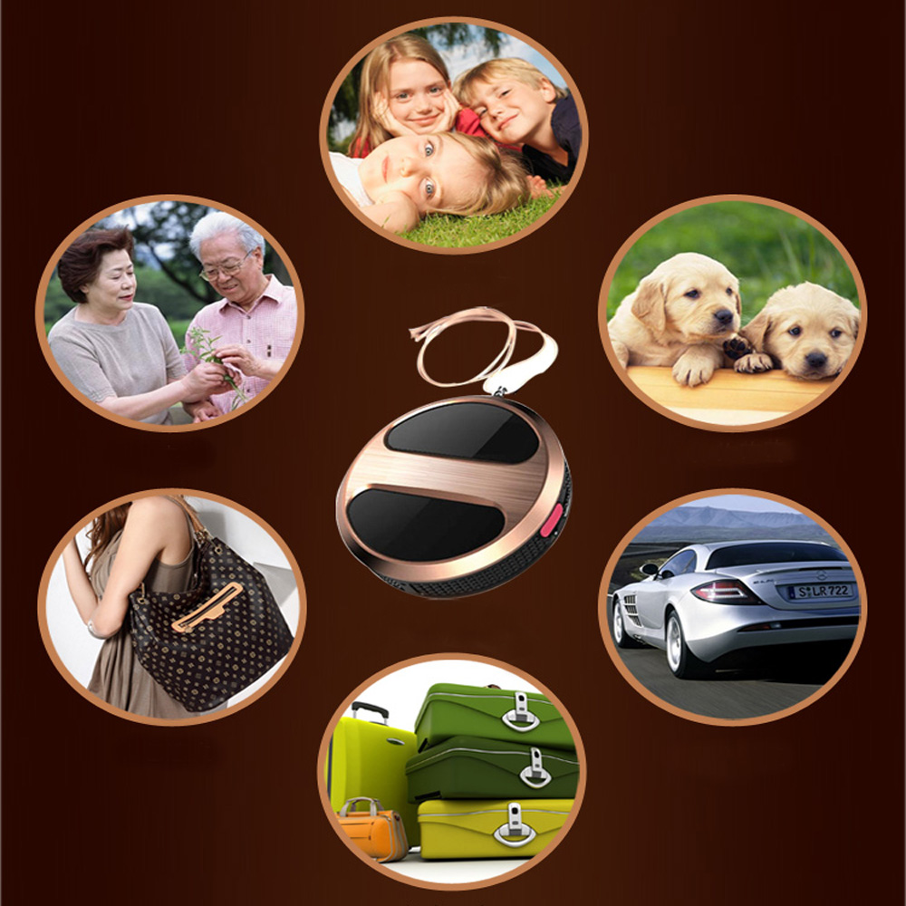 GPS Tracker Locator GSM GPRS SOS Tracking Device For Car Child Pet Golden(China (Mainland))