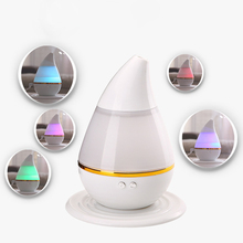 White ABS USB Charging 12.8*12.8*15.5cm LED Air Humidifier Incense Burners Essential Oil Ultrasonic Aroma therapy Diffuser 250mL(China (Mainland))