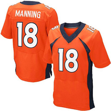 Men's #58 Von Miller Jerseys Adult #18 Peyton Manning #12 Paxton Lynch #88 Eemaryius Thomas Navy Blue Orange Elite Jerseys Adult(China (Mainland))