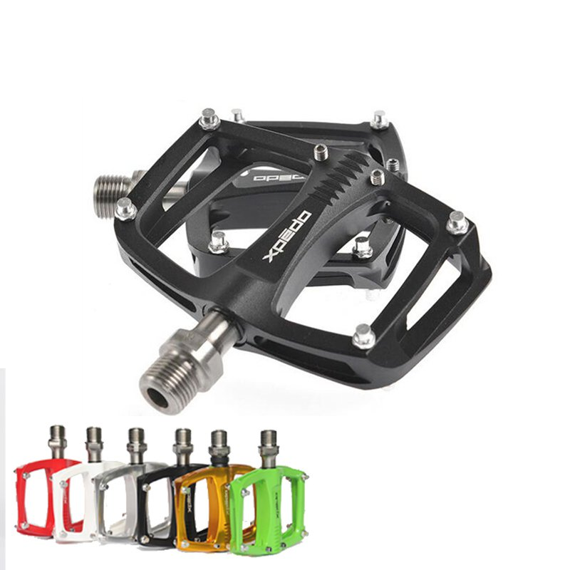 Xpedo C260 Aluminum Extruted Flat Road Bicycle Cycling Pedals Titanium Axie Sealed Bearing Flat Bicycle Pedal(China (Mainland))