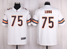 ABC100% Elite men Chicago Bears WOMEN YOUTH KIDS HOT SALE NEW FAST SHIPPING 75 Kyle Long(China (Mainland))