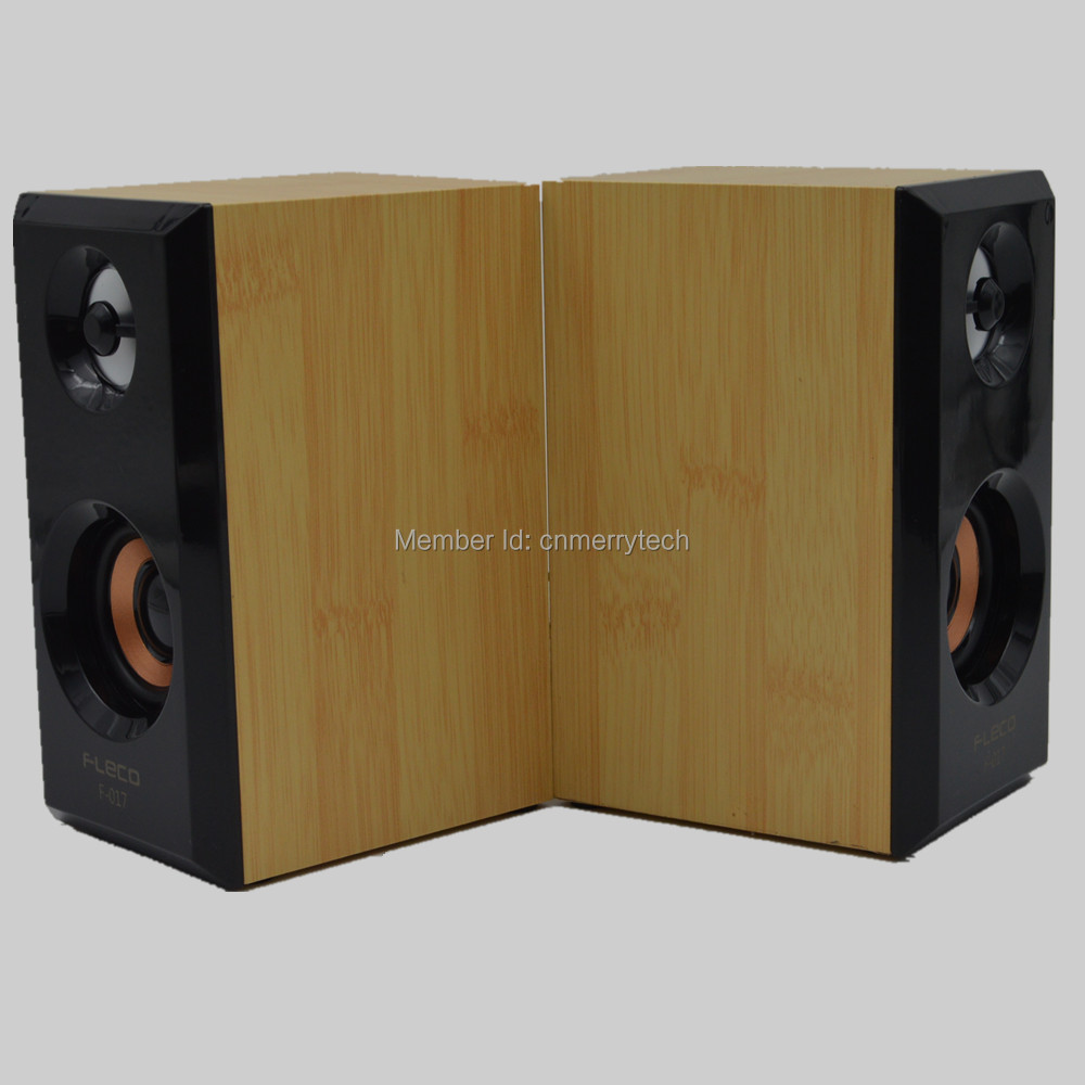 Manufacture wholesale portable wooden computer speaker(China (Mainland))