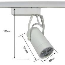 Di alta qualità 3 w bianco/bianco caldo ha condotto la luce della pista applique da parete riflettore cucina hotel mostra apparecchio(China (Mainland))