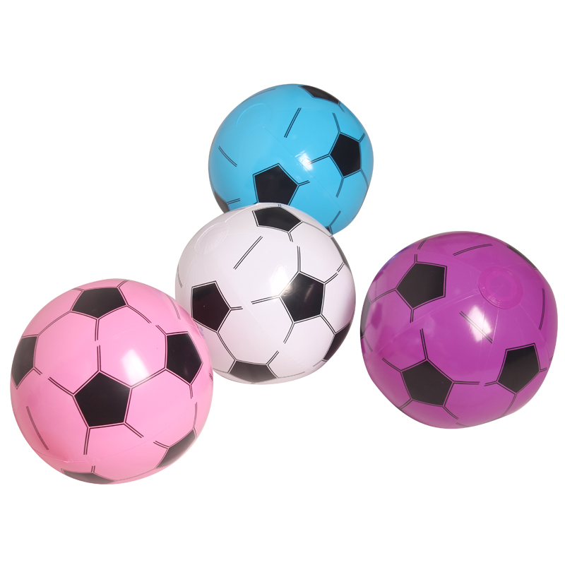 25cm Children Inflatable Soccer Sport Toys Inflatable Football For Kids Birthday Gift Pool Water Toys PVC(China (Mainland))