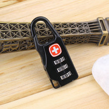 Alloy Cross Combination Lock Code Number for Luggage Bag Drawer Cabinet Wholesale