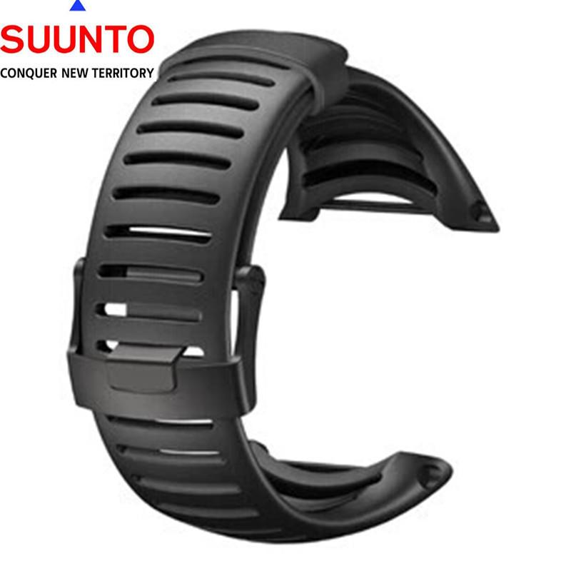 New! Watches Man Suunto Core 100% ORIGINAL Strap Standard All Black Watch Band/Strap<br><br>Aliexpress