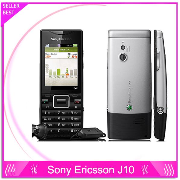 J10 Original Unlocked Sony Ericsson Elm J10i2 mobile phone GPS WIFI 5MP -refurbished one year warranty(China (Mainland))