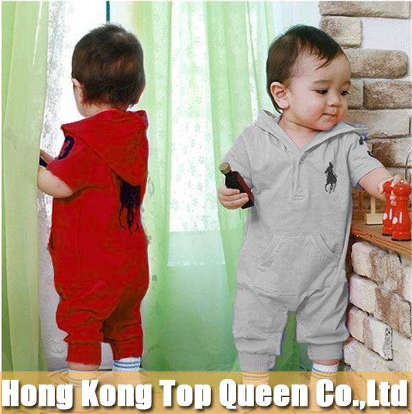 CRAZY PROMOTION, LOWEST PRICE, Reatil baby clothing summer Baby romper 5 colors baby One-Piece romper  short sleeve jumpsuit