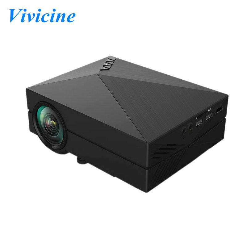 2015 New 1000 Lumens GM60 Pocket LED Mini AV USB HDMI Home Theater Cinema Video Game Movie Projector Wholesale(China (Mainland))