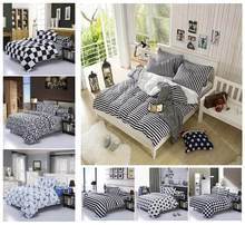 PROMOTION cotton bed set, 4 pcs, comforter Bedding set, King Queen Full size(China (Mainland))