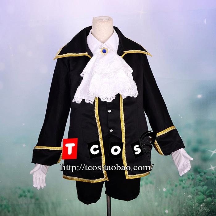 Здесь можно купить  Cosplay VOCALOID Aku No Meshitsukai Kagamine Len Thank Festival Suits Fancy Dress Unisex Party Halloween Costume Free Shipping  Одежда и аксессуары