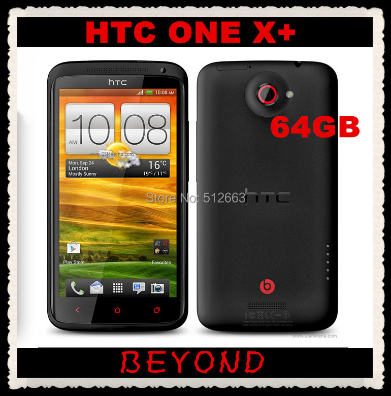 """HTC One X+ 64GB Original Unlocked GSM 3G Android Quad-core 1.7GHz Mobile Phone ONE Plus 4.7"""" WIFI GPS 8MP dropshipping(China (Mainland))"""