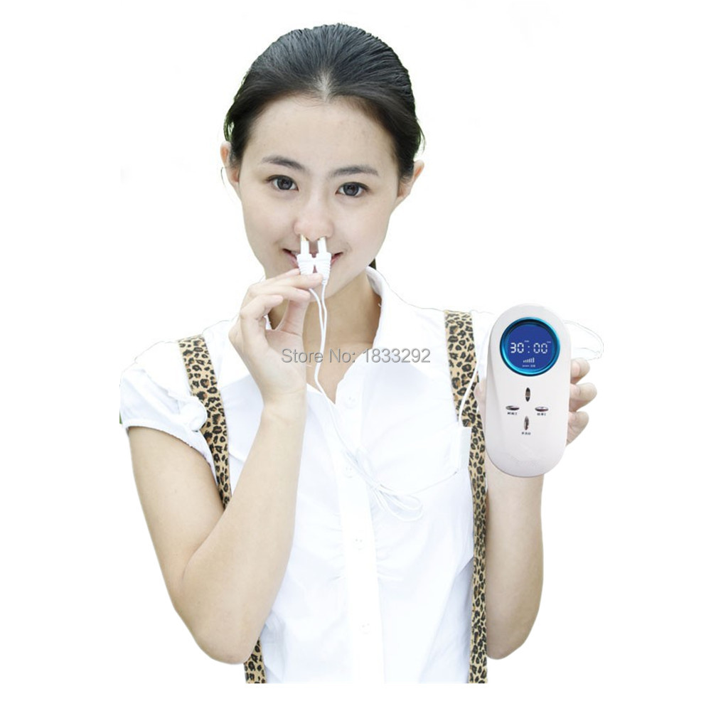 Latest products in market Blood Pressure blood sugar and blood fat medical device rhinitis laser(China (Mainland))