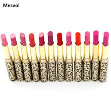 Lipsticks Makeup Lot Hot Fashion Leopard 12 Pcs 12 colors Red Lip Stick Set P8505(China (Mainland))