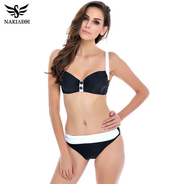 2016 новые росту бикини женщины купальник старинные ретро бразильские плавать сексуальный комплект бикини Большой размер купальники XXL