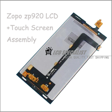 100% New Original LCD Display+Digitizer Touch Screen Full Assembly For ZOPO ZP920 Cell Phone 1920*1080 FHD