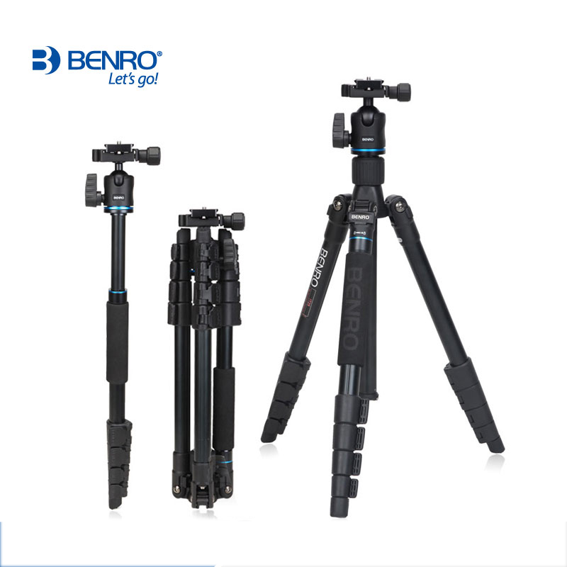 FREEO SHIPPING BENRO IT25 professional SLR photographic tripod portable digital Quick Releaseg Accessories Max loading 6kg(China (Mainland))