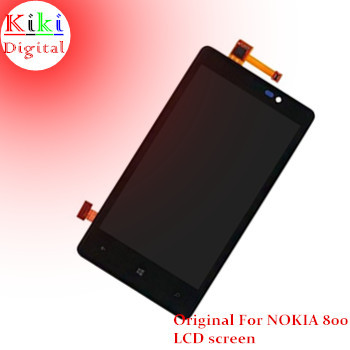 Фотография 100% Guarantee Original For Nokia lumia 800 LCD display + touch screen Full Complete Set with Frame +Tools Free shipping