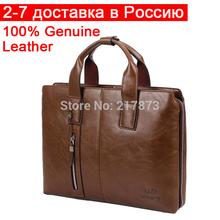 NEW Men's Senior Business briefcase Handbag 1.5kg39*29*7cm high-capacity Handmade Black Brown Khaki Waterproof Dignity gain face