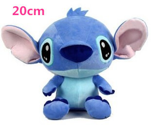 Super Cute Lilo and Stitch Plush Doll Toys, 20cm Lovely Stitch Toys for girls and boys, Hot sale Plush Animals Christmas gifts(China (Mainland))