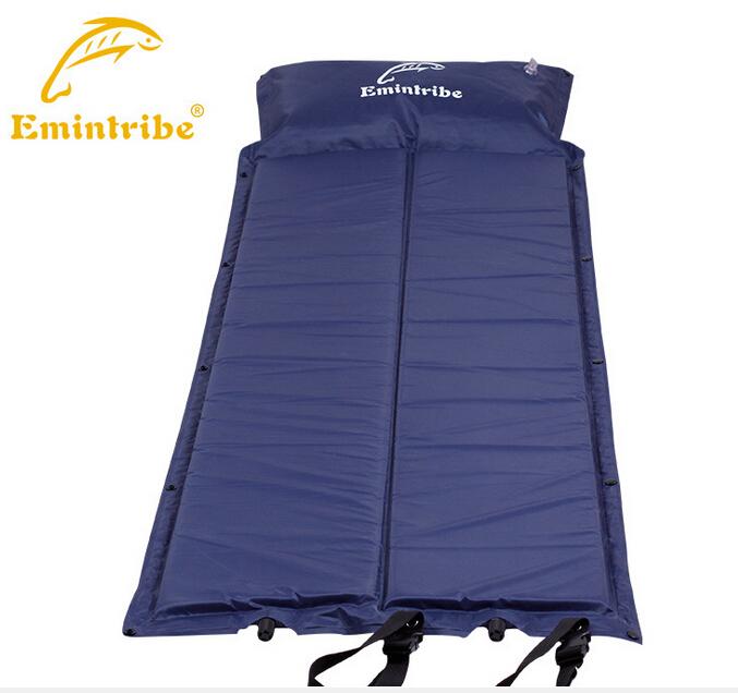 automatic inflatable waterproof mat Self-Inflating Air Mat Mattress Outdoor Bed Pillow Camping Sleeping Sofa Beach - Emintribe Sport Store store