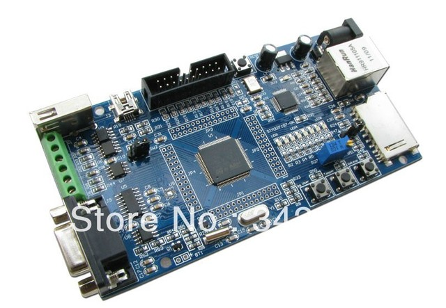 Free Shipping!!! Cortex-M3 STM32F107 development board with Ethernet CAN SD card interface connecte U disk USB keyboard