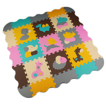 Baby Play Mat 30*30*1cm Puzzle Toy Child Eva Foam Gym Activity Playmat Soft Floor Crawling Carpet For Kids Children mat-child(China (Mainland))