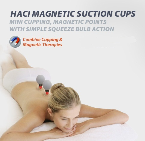 Silver 12 Cup HACI Magnetic Acupressure Suction Cupping Set Vacuum Acupuncture Massager Magnetic Therapy Moxibustion Health Care  Silver 12 Cup HACI Magnetic Acupressure Suction Cupping Set Vacuum Acupuncture Massager Magnetic Therapy Moxibustion Health Care
