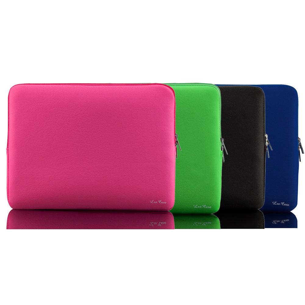 Portable Zipper Soft Sleeve Laptop Bag Laptop Case for MacBook Pro Retina Ultrabook Notebook 11/13/14/15 inch Light Weight(China (Mainland))