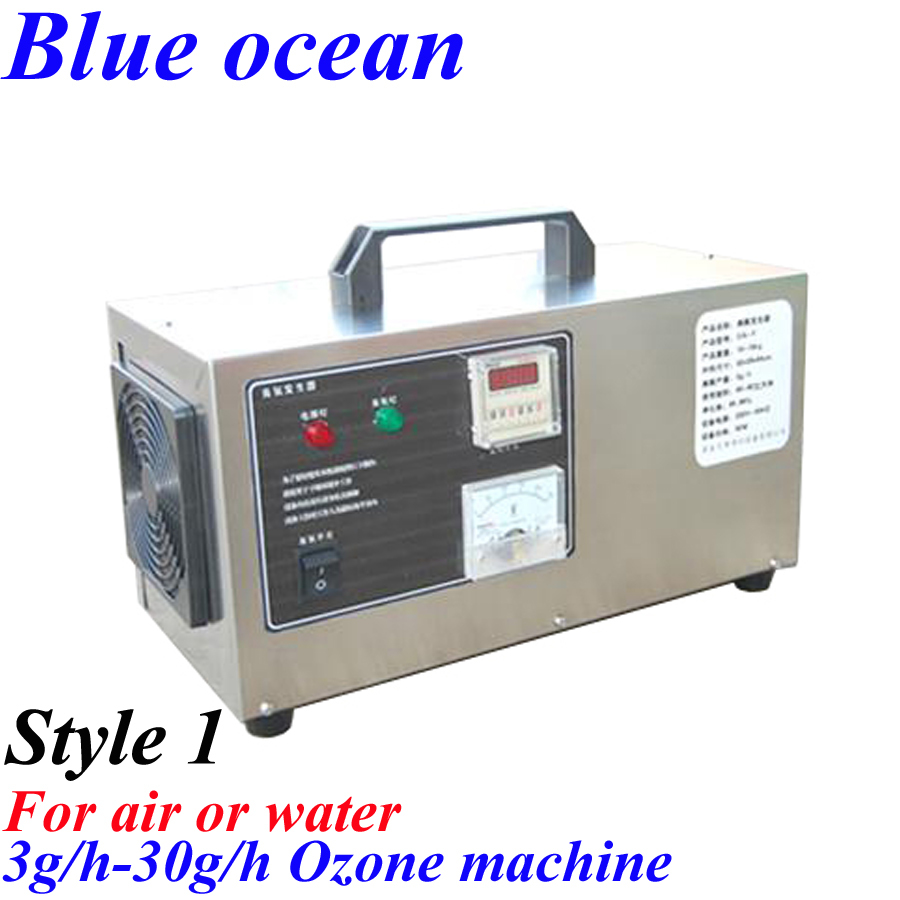 BO-2203APT, FREE SHIPPING VIA DHL OR EMS Portable ozone generator water air sterilizer ozonizer air and water penjana ozon(China (Mainland))