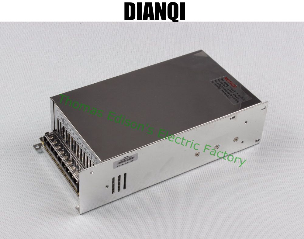 switching power supply 40A power suply 15v 600w Input 220v ac to dc power supply ac dc converter high quality S-600-15(China (Mainland))