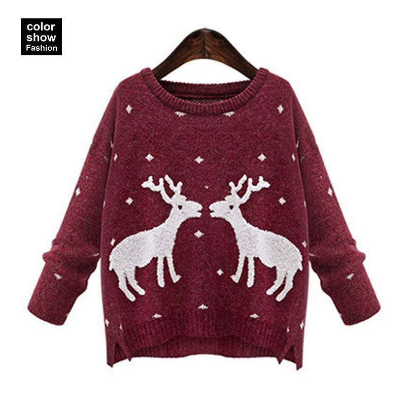 Novelty Christmas Jumpers Knitting Pattern : Ladies novelty christmas jumpers uk cardigan with buttons