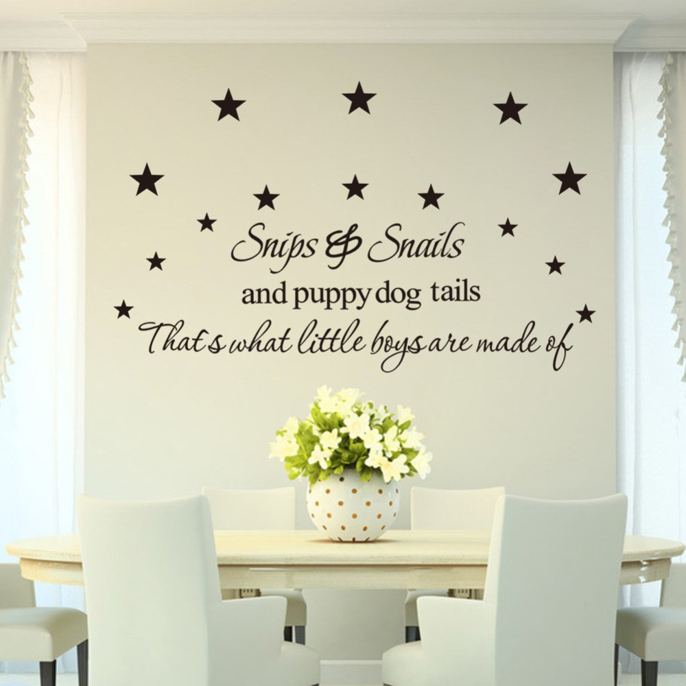 Snips&Snails Creative family wall stickers home decoration living room bedroom design sticker removable vinyl wall decals 8222(China (Mainland))